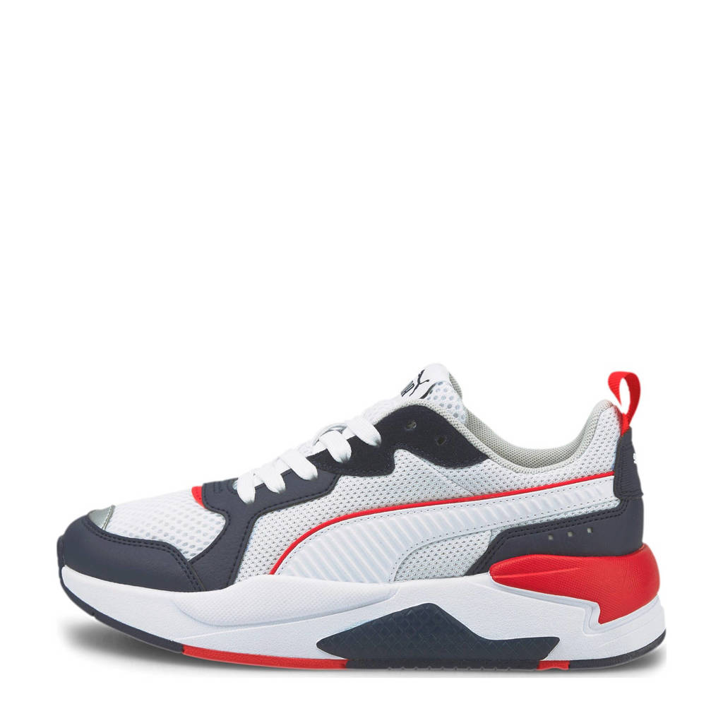 Puma X-Ray Jr sneakers donkerblauw/wit/rood, Donkerblauw/wit/rood
