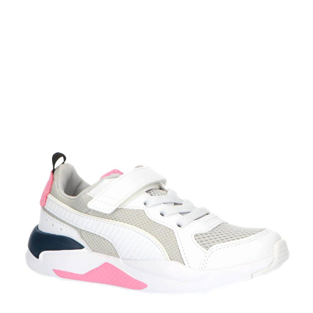 Puma X-Ray AC PS sneakers wit/grijs/roze/donkerblauw