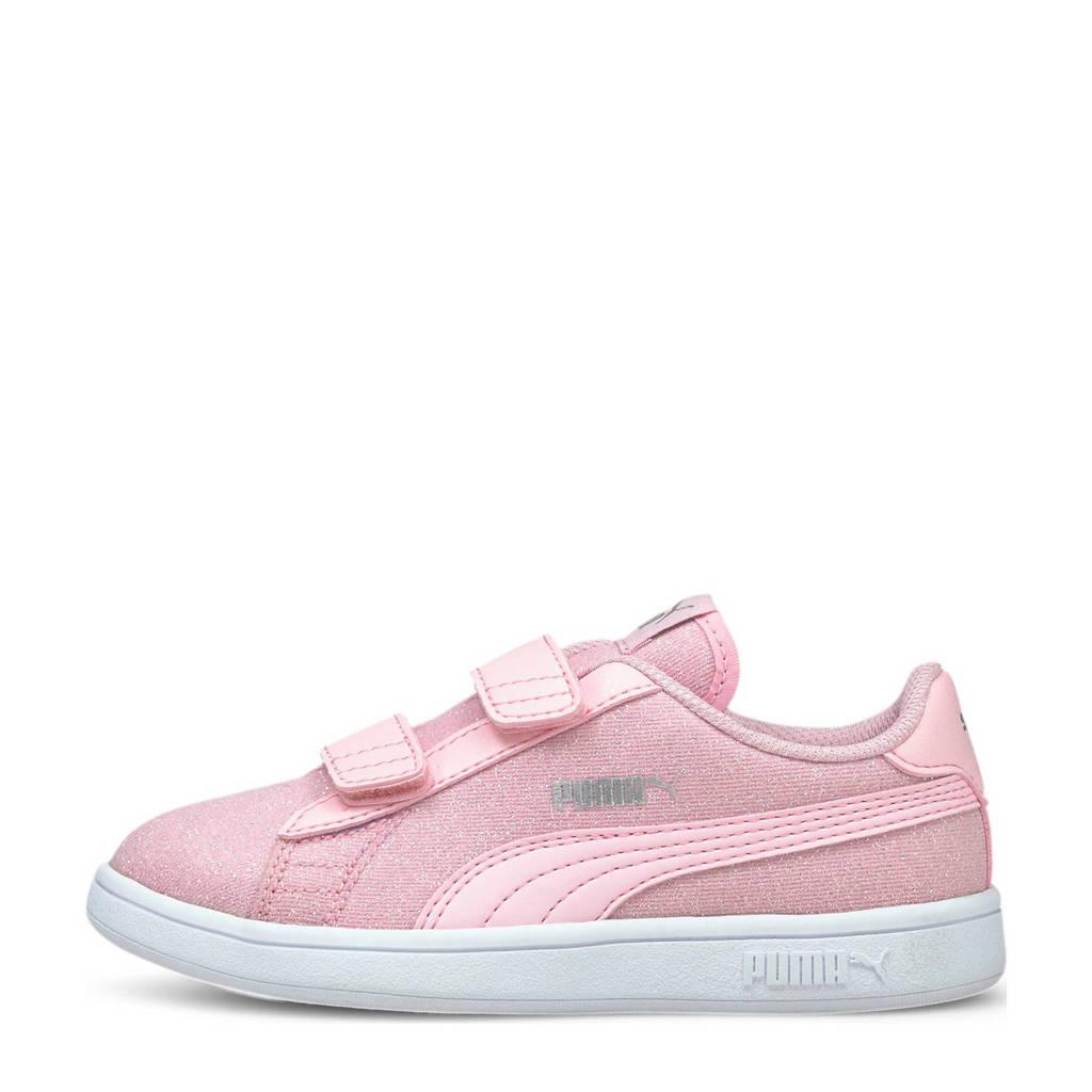 Puma Smash v2 Glitz Glam V PS sneakers roze, Roze