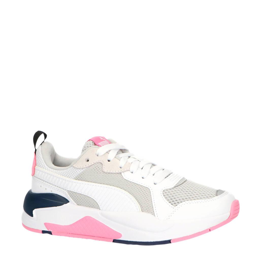 Puma X-Ray Jr sneakers wit/grijs/roze/donkerblauw