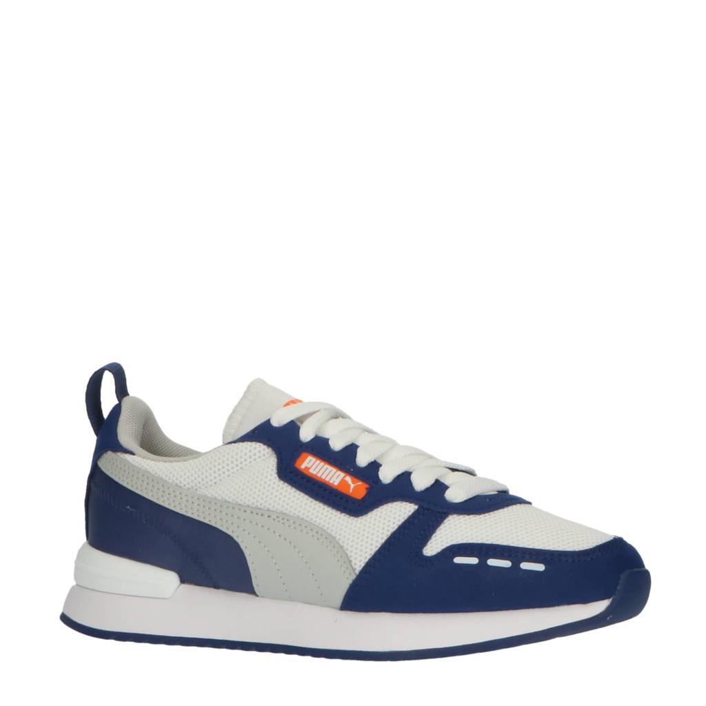 Puma R78 Runner  sneakers wit/grijs/lichtblauw, wit/lichtgrijs/blauw