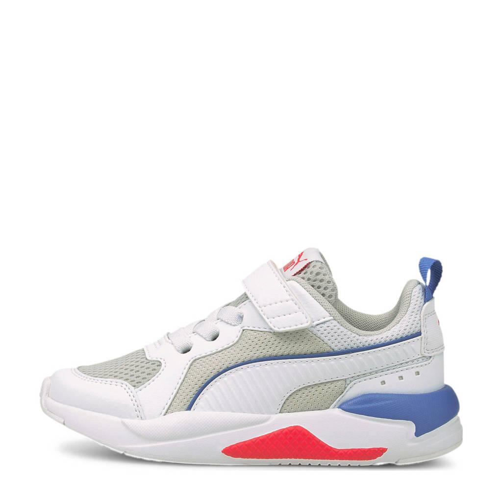 Puma X-Ray AC PS sneakers wit/grijs/kobaltblauw, wit/grijs/kobaltblauw/rood