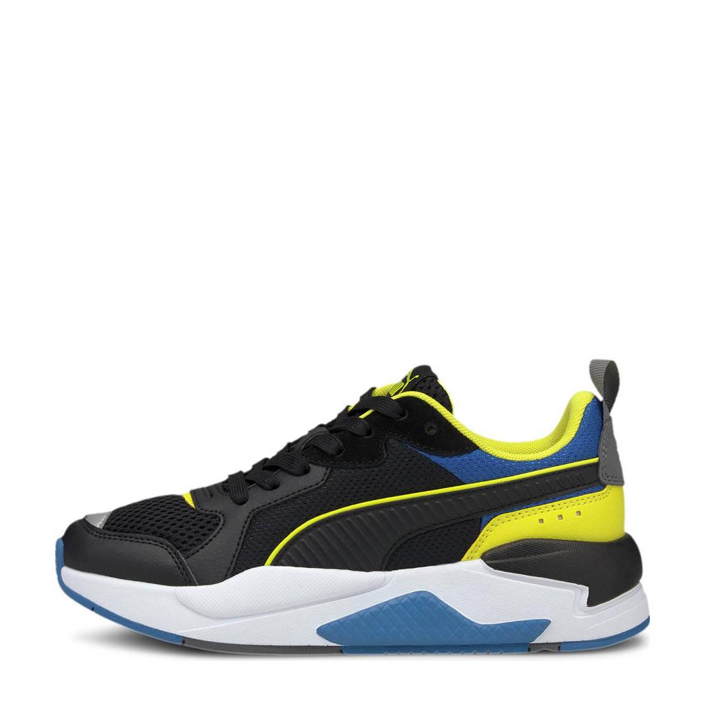Puma X-Ray Jr sneakers zwart/geel/blauw, Zwart/geel/blauw