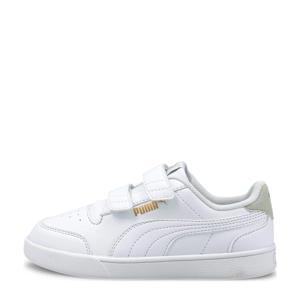 Shuffle V PS sneakers wit/lichtgrijs