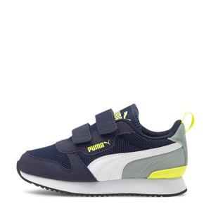 R78 V PS sneakers donkerblauw/geel/grijs