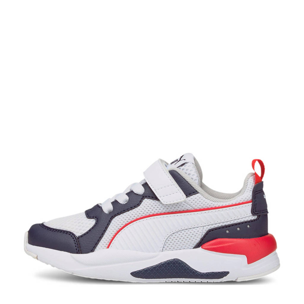 Puma X-Ray AC PS sneakers donkerblauw/wit/rood, Donkerblauw/wit/rood