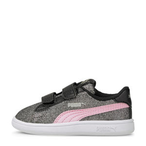 Smash V2 Glitz Glam V Inf glitter sneakers zwart/roze