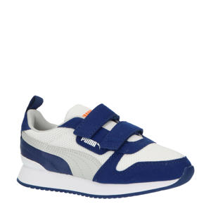 R78 V PS sneakers wit/donkerblauw/grijs