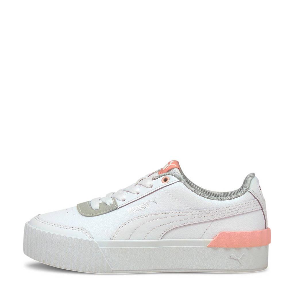 Puma Carina Lift Jr. sneakers wit/roze, Wit/roze