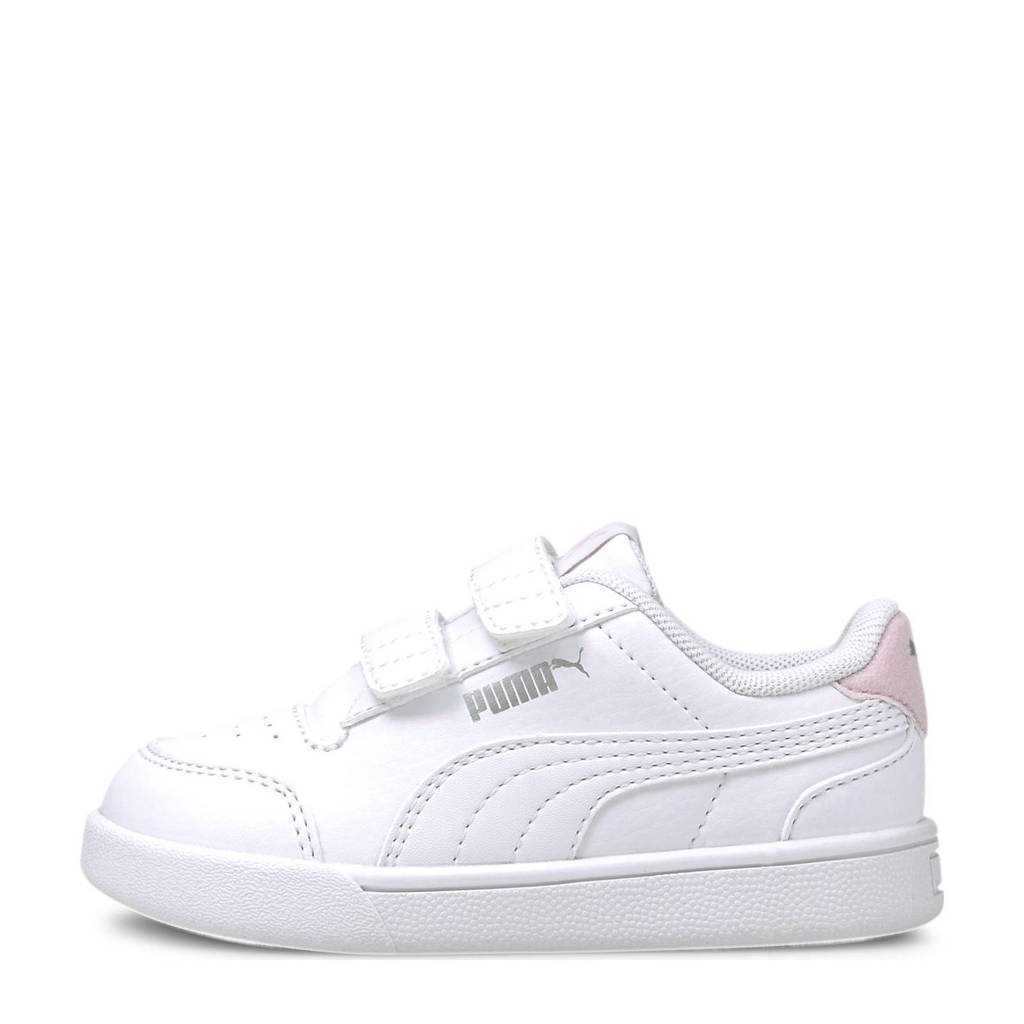 Puma Shuffle V Inf sneakers wit/roze, Wit/roze