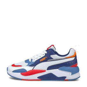 X-Ray 2 Square Jr sneakers wit/blauw/oranje/rood