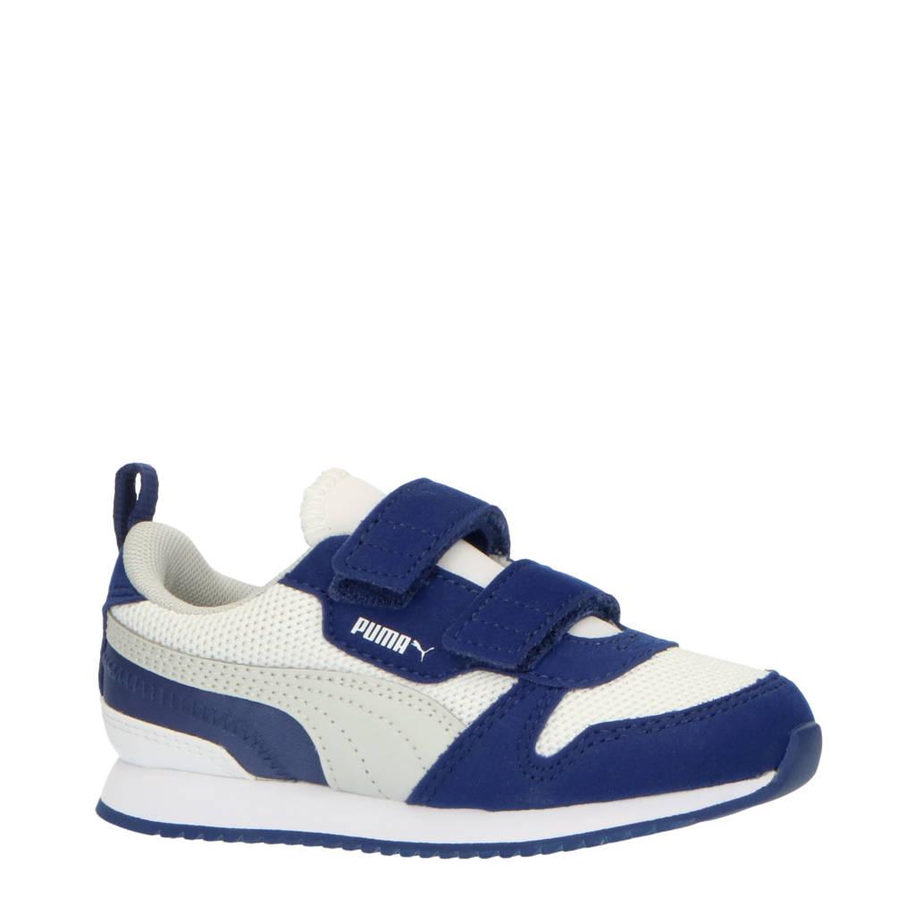 Puma R78 V Inf sneakers wit/grijs/blauw, Wit/grijs/blauw
