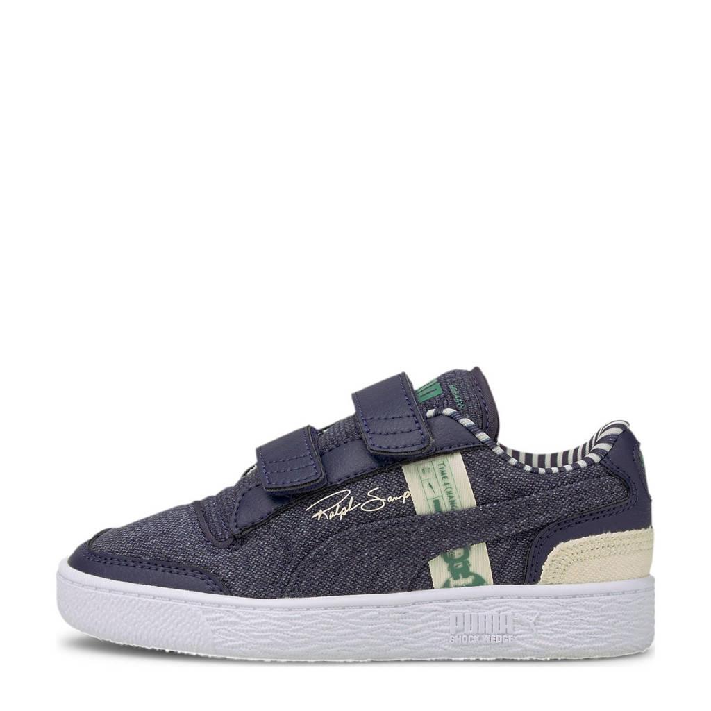 Puma Ralph Sampson  Lo V sneakers donkerblauw/ecru, Donkerblauw/ecru