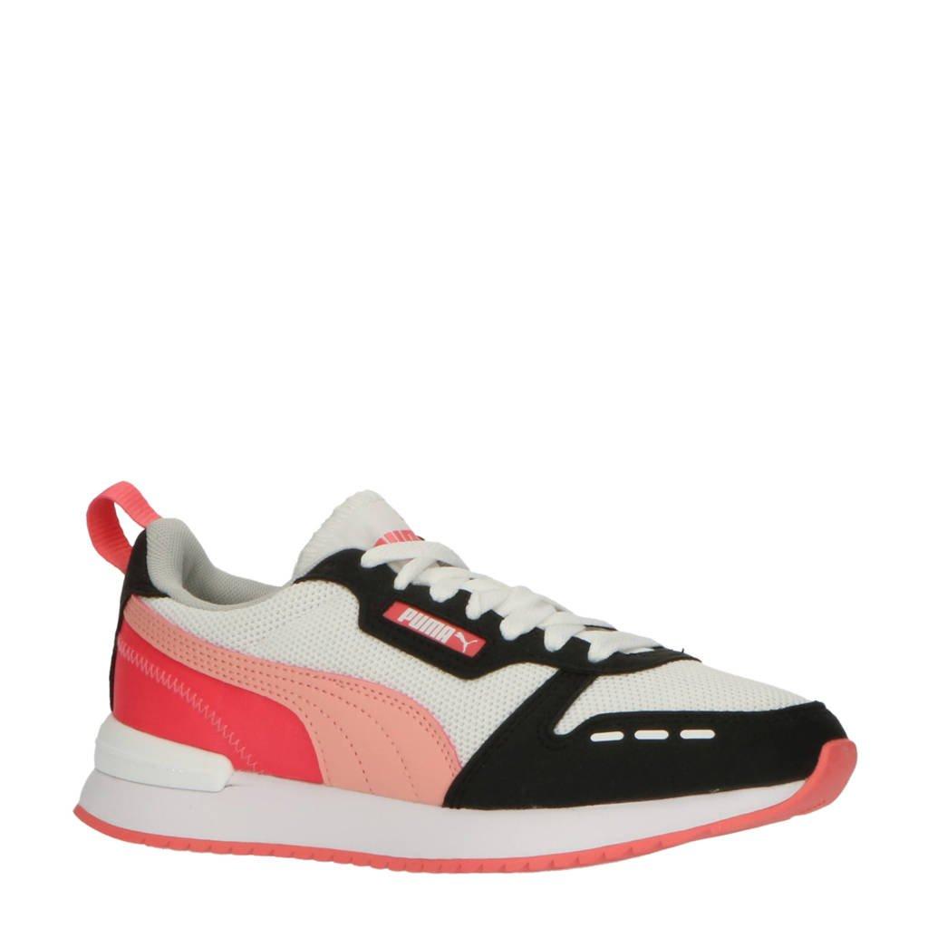 Puma R78 Runner  sneakers wit/oranje/zwart, Wit/oranje/zwart