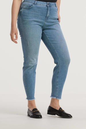 cropped skinny jeans Amy light denim