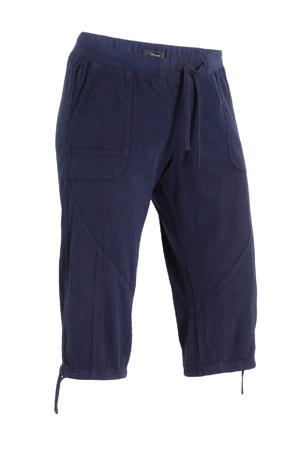 regular fit capri JEASY donkerblauw