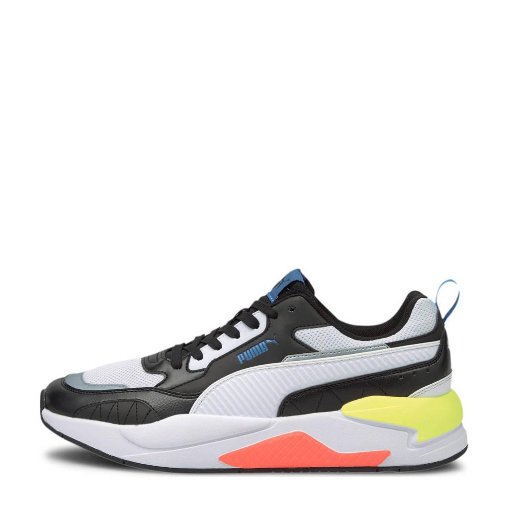 Puma X-Ray 2 Square  sneakers zwart/wit/blauw, Zwart/wit/blauw