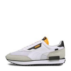 Future Rider Core sneakers wit/lichtgrijs/geel
