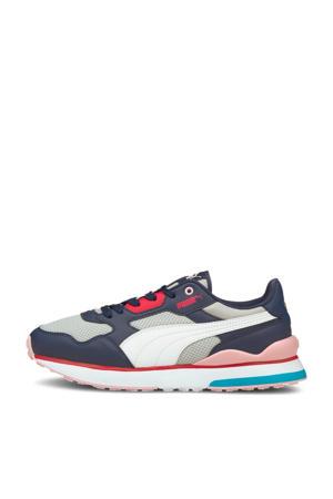 R78 FUTR  sneakers donkerblauw/wit/grijs/roze