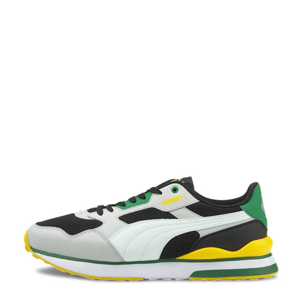 Puma R78 FUTR  sneakers zwart/wit/lichtgrijs, Zwart/wit/lichtgrijs