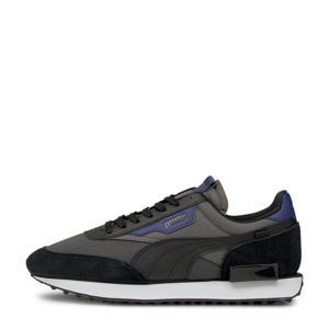 Future Rider Core sneakers antraciet/zwart/kobaltblauw