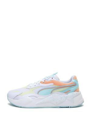RS-X³ Pastel Mix sneakers wit/lichtgeel/lichtoranje/lichtblauw