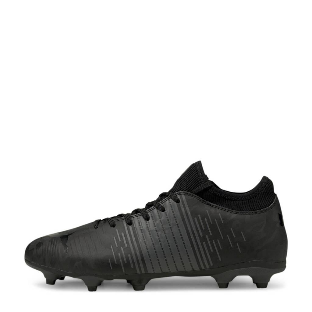 Puma Ruture Z 4 FUTURE Z 4.1 FG/AG Jr Sr. voetbalschoenen zwart, Zwart/antraciet