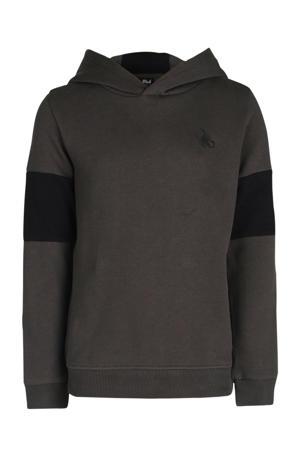 hoodie Penn antraciet/zwart