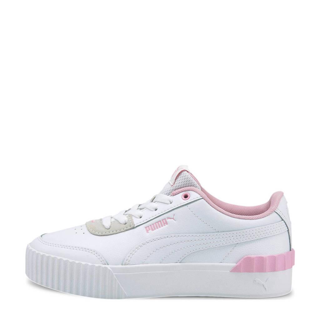 Puma Carina Lift sneakers wit/roze, Wit/roze