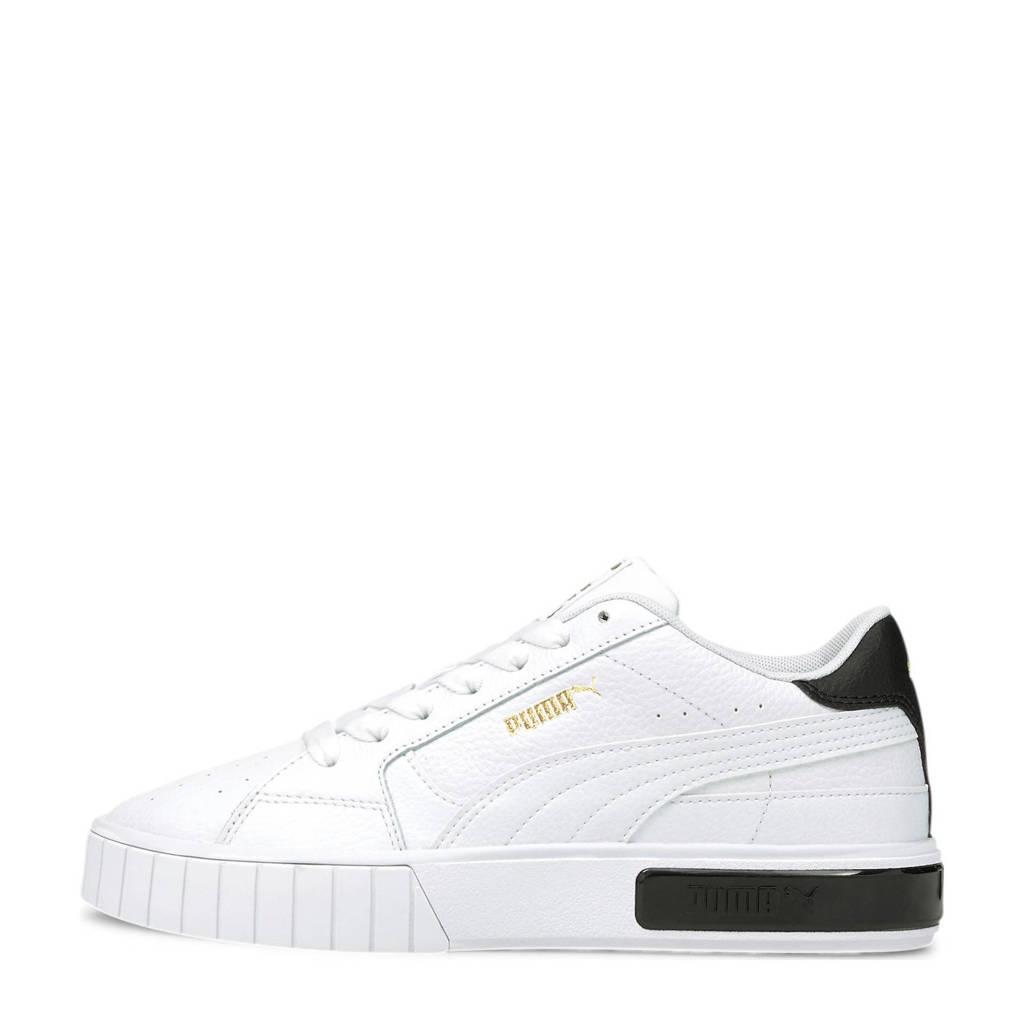 Puma Cali Star  sneaker wit/zwart, Wit/zwart