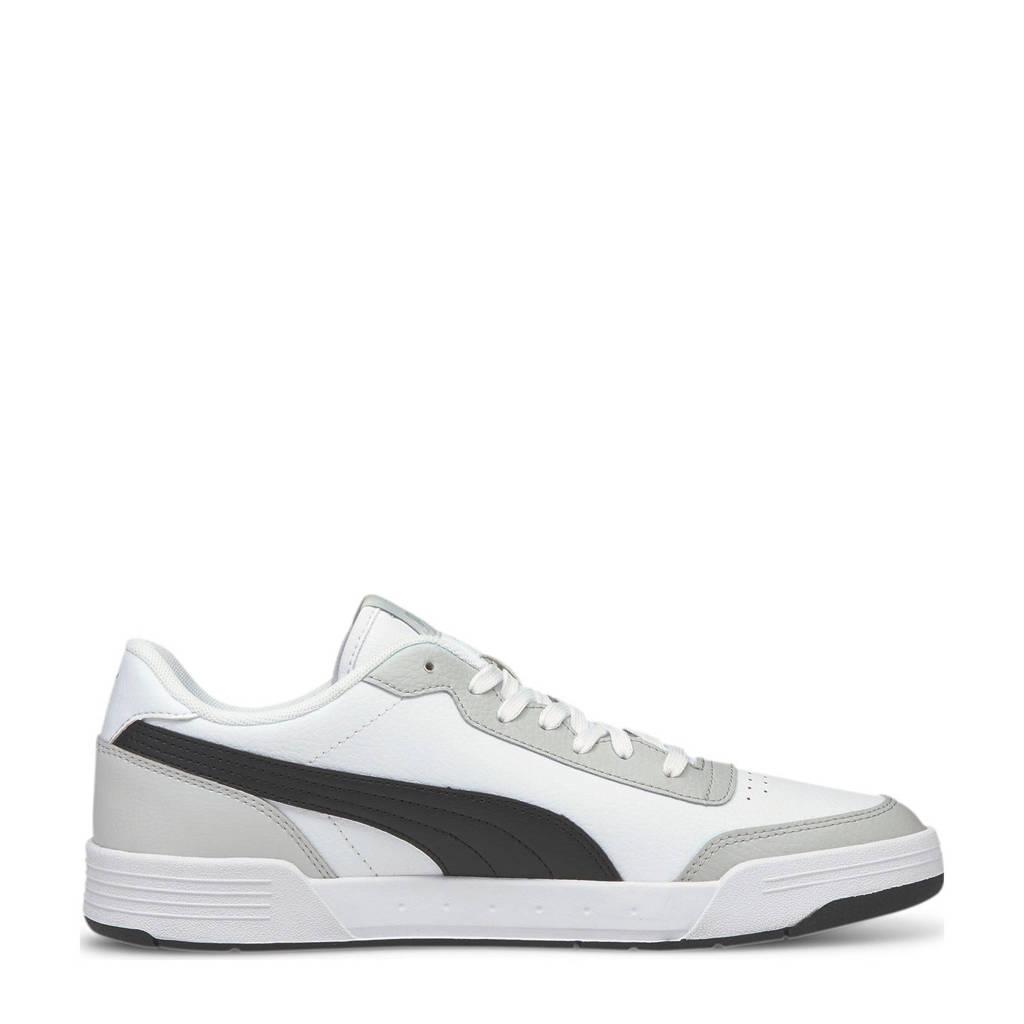 Puma Caracal  sneakers wit/zwart/grijs, Wit/zwart/grijs