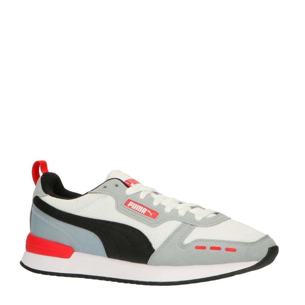 Puma R78  sneakers grijs/wit/rood, Grijs/wit/rood