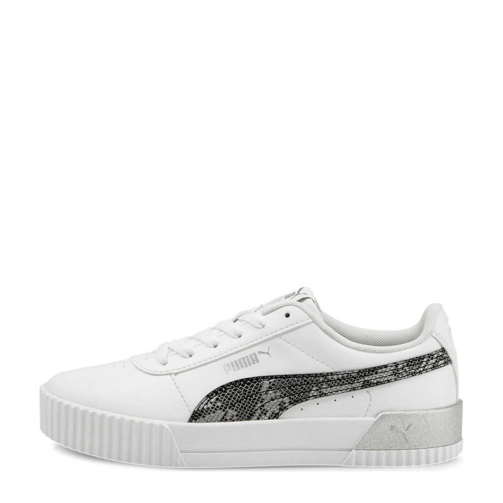 Puma Carina Untamed sneakers wit/zilver, Wit/zilver