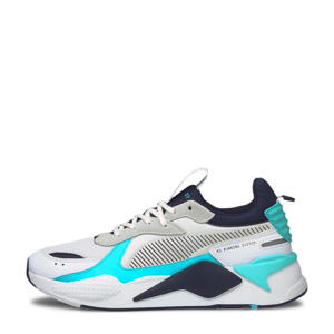 RS-X Mix sneaker wit/blauw