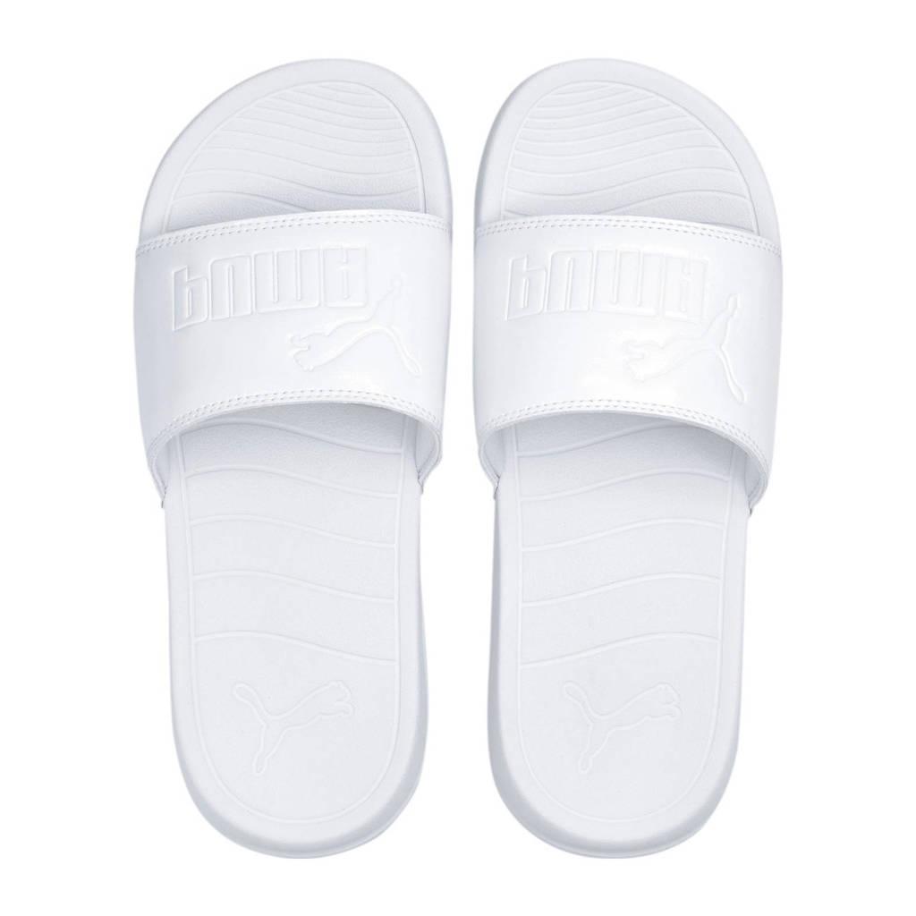 Puma Popcat  slippers wit, Wit
