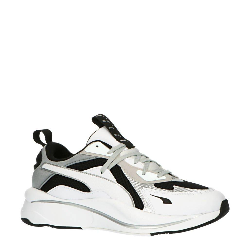 Puma RS -Curve Glow sneakers zwart/wit/zilver, Zwart/wit/zilver