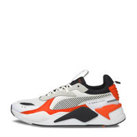 Puma RS-X Mix sneaker wit/grijs/oranje, Wit/Grijs/Oranje