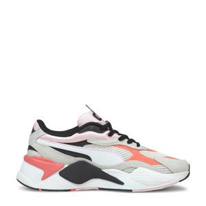 RS-X³ Twill AirMesh sneakers ecru/oranje/zwart