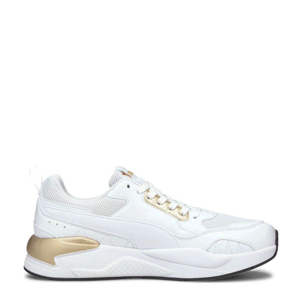 Puma X-Ray² Square Metallic sneakers wit/goud, Wit/goud/zwart