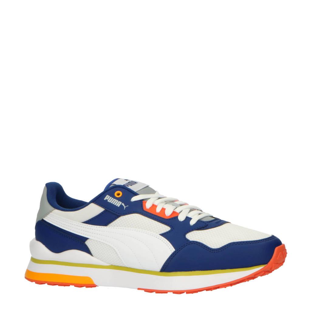 Puma R78 FUTR  sneakers blauw/wit/limegroen, Blauw/wit/limegroen
