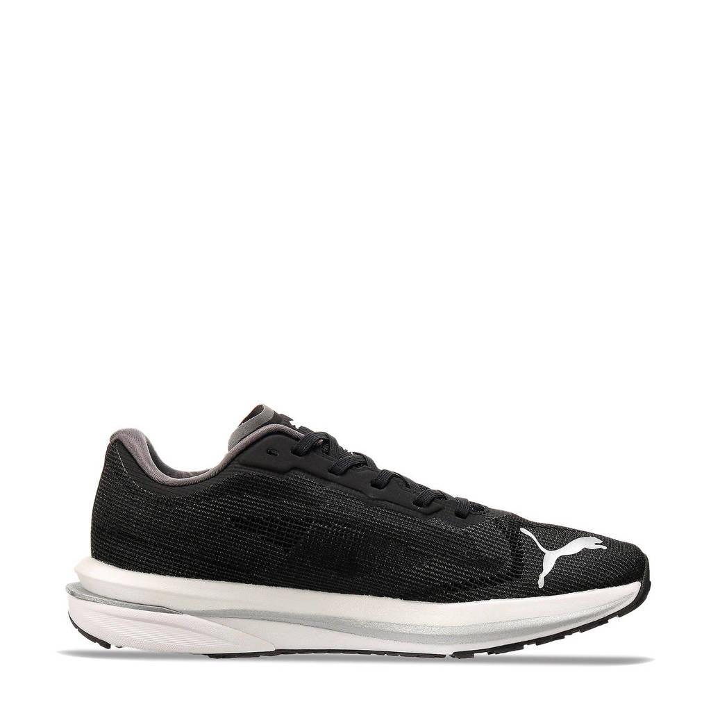 Puma Velocity Nitro Wns  sportschoenen zwart/zilver, Zwart/zilver