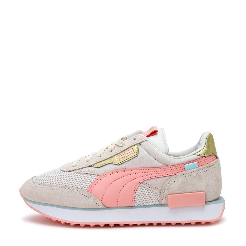 Puma Future Rider Chrome sneakers ecru/roze, ecru/roze/zand