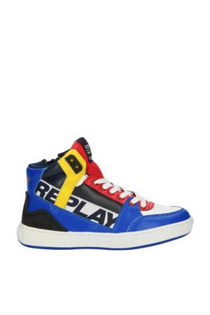 Campos  hoge sneakers wit/multi