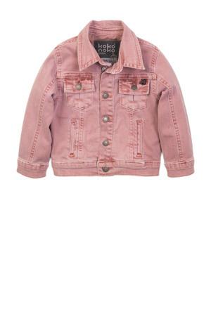 spijkerjas roze