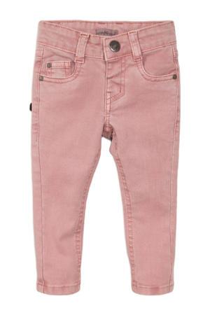 skinny jeans roze