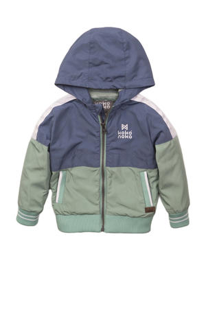 zomerjas blauw/groen/wit