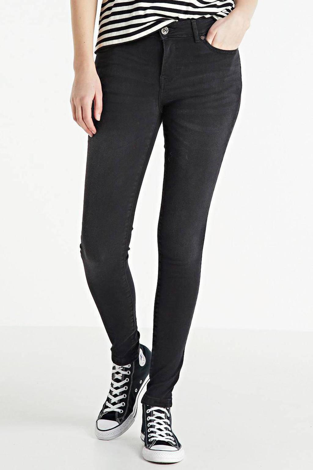 Cars skinny jeans Elisa black used, Black used