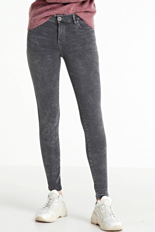 Cars skinny jeans Elisa mid grey, Mid Grey
