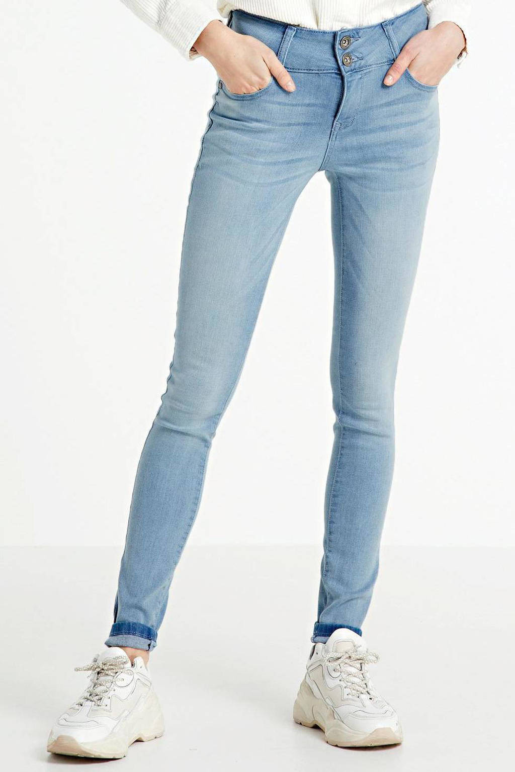 Cars skinny jeans Amazing bleached used, Bleached used