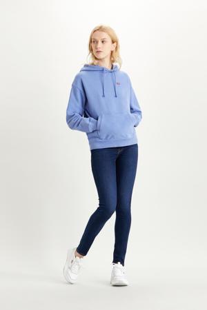hoodie met logo colony blue